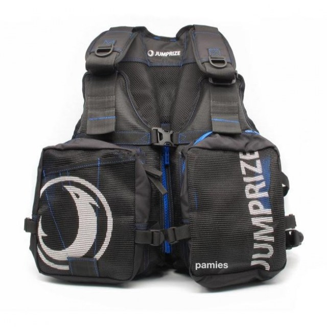 tienda pesca deportiva,ropa para pesca,chalecos pesca,Jumprize Chaleco Cool Vest Black Blue sportys pamies
